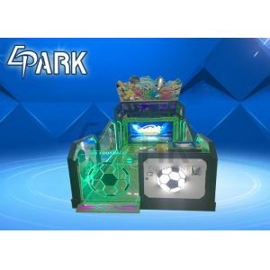 China CE Video Arcade Game Machines / Amusement Happy Soccer Shooting Ball Prize Redemption Games on sale