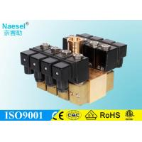 China 24 / 48 Position 1.5 Inch Solenoid Valve , Manifold 12 Volt Dc Solenoid Valve on sale
