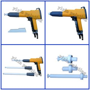 China Automatic Electrostatic Portable Powder Coating Machine Manual Spray Gun Test System on sale