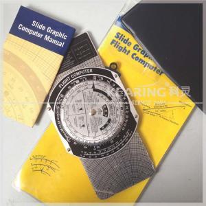 China Metal E6B Plotter Slide Graphic Flight Computer Luxury Aluminum Navigational Portable Device on sale