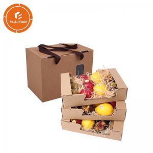 China Full-color printing custom logo cardboard fruit packaging box packaging gift box on sale