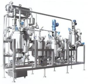 China Organic Solvent / Herbal Extraction Equipment , Concentration Machine on sale