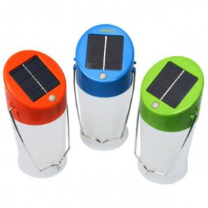 China portable LED solar camping lamp on sale