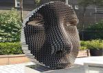Figure Decor Outdoor Metal Sculpture Stainless Steel For Large Garden