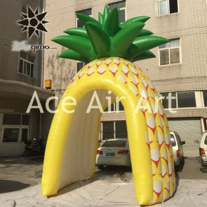 China cheap vivid inflatable promotion booth inflatable pineapple tent on sale