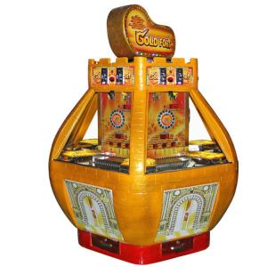 China Gold Fort Casino Coin Operated Arcade Redemption Game Machine on sale