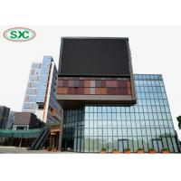 outdoor full color p6 led screen module size 192x192mm wall-mounting fixed led display