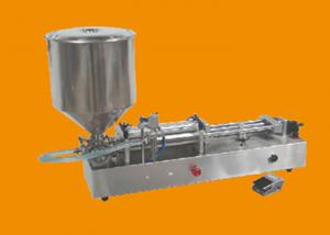 China Paste Pneumatic Liquid Filling Machine , Semi Auto Piston Filling Machine on sale