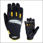 High performance reflective/PVC pads man safety protection mechanics working gloves for power tools