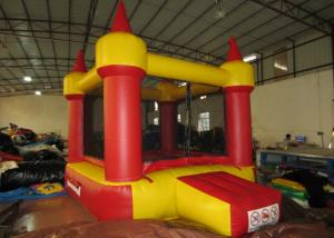 China Red small inflatable jump castke house for kids under 7 years inflatable mini bouncer castle on sale