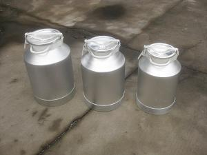 China Dairy Farmer 15 gallon 10 gallon stainless steel milk can With FDA Certificate on sale
