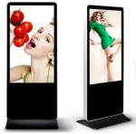 factory offer 42 inch standing indoor or outdoor lcd advertising digital media player used in anywhere for advertising