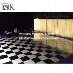 manufacturer white black  wooden dance floor for Special Events wedding partity