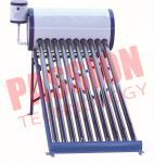 100L Vacuum Tube Solar Water Heater Glass Tubes For Family White Color