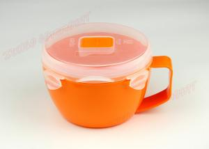 China Noodle Soup Cup Plastic Microwave Pot , Steam Cooker For Microwave Long Lifespan on sale