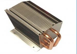 China Customized Soldering Aluminum Copper Pipe Heat Sink For Tooling on sale