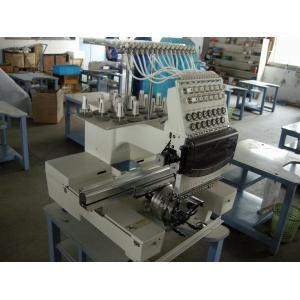 China Machine principale simple de broderie de petite entreprise, machine de broderie de 12 aiguilles industrielle on sale