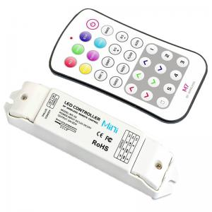 China 3A/3CH 2.4GHz Rf Rgb Led Controller , Wifi Led Rgb Strip Controller Rgb And Single Color on sale