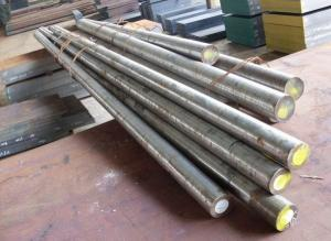 China Hot Rolled Plastic Mold Steel Round Bar 205 MM , DIN 1.2316 on sale