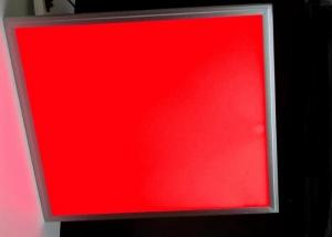 China Rgb Led Recessed Panel Light , 60cm 24 Inch Color Changing Led Panel Light on sale