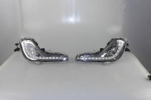 China Hyundai Accent LED DRL Lights Automotive Daytime Running Lights Long Life on sale