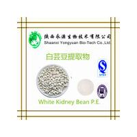 China Natural herbal extract powder 10:1, phaseolin1-3%,3000 U/g White Kidney Bean Extract,Phaseolus vulgaris extract on sale