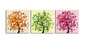 China Abstract Canvas Printing Service with wooden Frame on sale