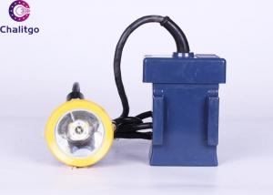 China High Power LED Headlamp 8Ah Miner Night Light 6000LM Projects Construction on sale