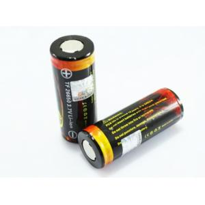 China 26650 Rechargeable Lithium Battery 3.7v 5000mAh For Led Torch Flashlight Light on sale