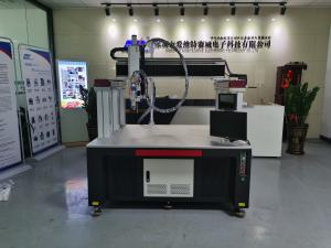 China Automatic Lithium Battery Pack Laser Spot Welding Machine With High Speed on sale