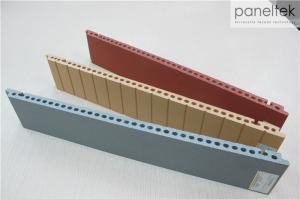 Quality 18MM Thickness Building Facade Panels Fire Resistance With 300 - 1500mm Length for sale