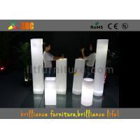 LED Lighting Column Or Wedding Led Pillar , Illuminated Pillars For Bars