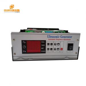 China Multi - Function Ultrasonic Generator Power Supply For Machinery Industry on sale