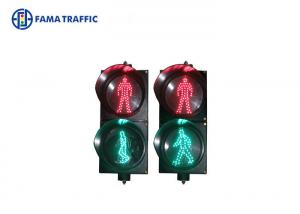 China Red & Green Color LED Traffic Signal Lamps For Standardizing Pedestrian ' S Behavior on sale