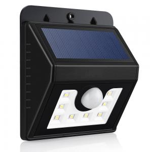 China Garden Patio Fencing Pathway external Motion Sensor Solar Light energy saving on sale