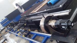 China Auto - focus Head Steel Pipe Cutting Machine with Laser CE / ISO on sale