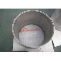 ASTM B760-2007 Tungsten Ground Tube , Large Diameter Round Tungsten Pipe