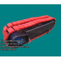 RT-3000 Hydraulic rubber track frame crawler track undercarriage