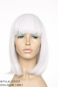 China Short Synthetic Hair, Color 1001, Sytle G510 on sale