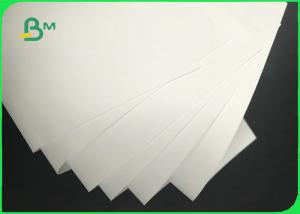 China 0.7mm 0.9mm 1.4mm 24 * 36inch White Absorbent Paper For Coaster Board on sale