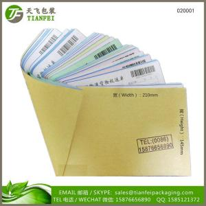 China (PHOTOS) 210mmx5.5 color paper 20sets of 100 pages with changable barcode logistics delivery order book on sale
