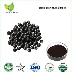 China Black Bean Extract,black soybean powder,black bean hull extract,black soybean hull extract on sale