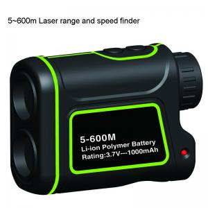 China 600m Laser range and speed finder on sale