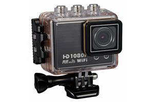 China Small 1.5 Inch FHD 1080P Waterproof Digital Sports Cameras 170 Degree Large Wide Angle on sale