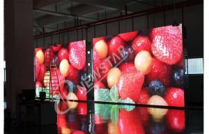 China El alto brillo del maintence de la pantalla LED delantera de la publicidad al aire libre llevó la pared video on sale