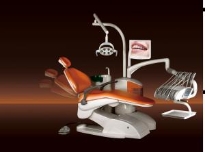 China Separate unit box comfortable leather cushion with camera system dental lab equipment on sale