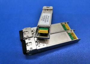 China 10GBASE SFP+ Modules , 10gb Ethernet SFP Module TX1330DFB Laser RX1270nm BIDI LC 60KM on sale