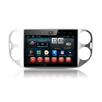 China Android 4.4 Auto Full Touch Panel 3g Wifi Volkswagen Gps Navigation System Vw Tiguan on sale