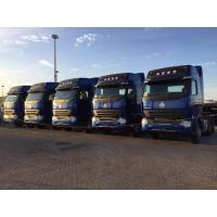 China ZZ4257N3847P Jewelry Blue 6x4 HOWO A7 Tractor Trailer Truck With ZF8098 Steering on sale