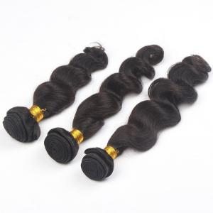 China Thick Buttom 7a Virgin Hair 3 Bundles Real Human Brazilian Loose Wave Hair Bundles on sale